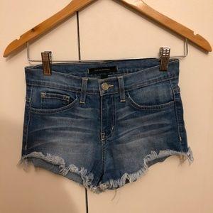 Flying Monkey Ripped Jean Shorts